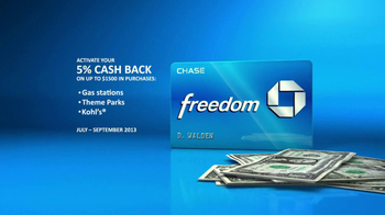 Chase Freedom TV Spot, 'Fuel More than Your Car' - Thumbnail 6