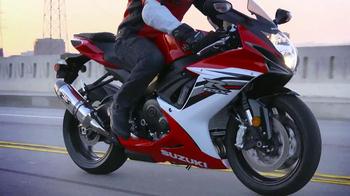 Suzuki 50 Years Strong Anniversary Celebration TV Spot, 'Motorcycles' - Thumbnail 4