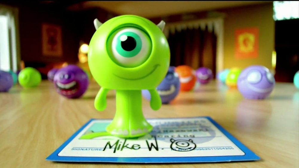 Monsters University Roll and Scare Figures TV Spot