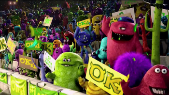 Monsters University Roll and Scare Figures TV Spot - Thumbnail 2