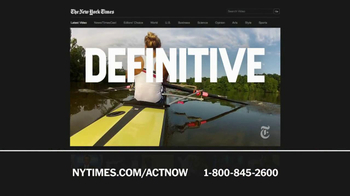 The New York Times TV Spot, 'Great Journalism' - Thumbnail 5