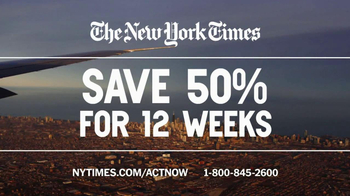 The New York Times TV Spot, 'Great Journalism' - Thumbnail 8