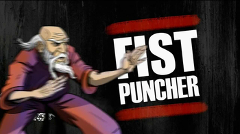 Fist Puncher TV Spot, 'Nude Beaches and Golf Ninjas' - Thumbnail 1