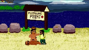 Fist Puncher TV Spot, 'Nude Beaches and Golf Ninjas' - Thumbnail 2