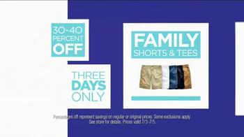 JCPenney TV Spot, 'July Savings' - Thumbnail 6