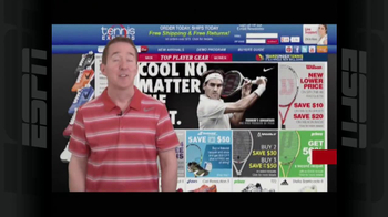 Tennis Express TV Spot, 'London Shirt' - Thumbnail 1