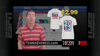 Tennis Express TV Spot, 'London Shirt' - Thumbnail 8