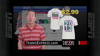 Tennis Express TV Spot, 'London Shirt' - Thumbnail 9
