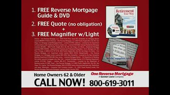 One Reverse Mortgage TV Spot, 'Home'
