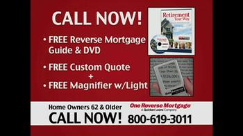 One Reverse Mortgage TV Spot, 'Home' - Thumbnail 9
