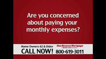 One Reverse Mortgage TV Spot, 'Home' - Thumbnail 1