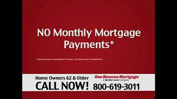 One Reverse Mortgage TV Spot, 'Home' - Thumbnail 4