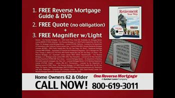 One Reverse Mortgage TV Spot, 'Home' - Thumbnail 6