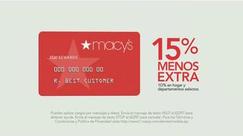 Macy's Venta del Cuatro de Julio TV Spot, 'Compras' [Spanish] - Thumbnail 8