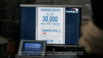 Capital One Purchase Eraser TV Spot, 'Last Request' Featuring Alec Baldwin - Thumbnail 6