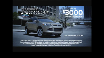 Ford Summer Spectacular TV Spot, 'Escape: The Heist' - Thumbnail 8