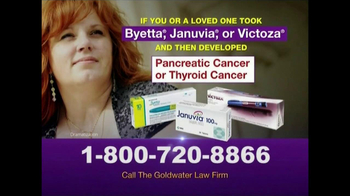 Goldwater Law Firm TV Spot, 'Pancreatic Cancer'