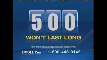 Bosley TV Spot, 'Completely Natural' - Thumbnail 5