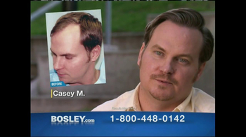 Bosley TV Spot, 'Completely Natural'