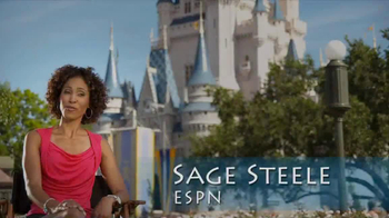 Disney Parks & Resorts TV Spot Featuring Sage Steele - Thumbnail 1