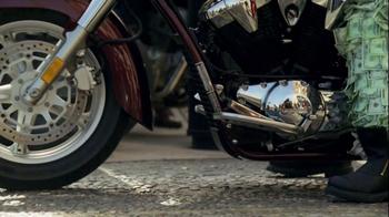 GEICO Motorcycle TV Spot, 'Money Man: Bike Rally' - Thumbnail 2