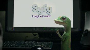 GEICO TV Spot, 'Syfy Logo' - 676 commercial airings
