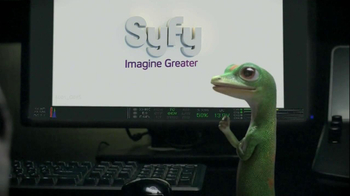 GEICO TV Spot, 'Syfy Logo' - 676 commercial airings