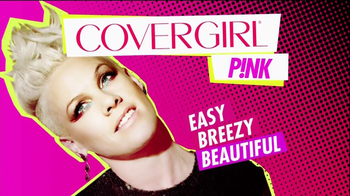 CoverGirl Flamed Out Mascara TV Spot, 'News in Volume' Featuring Pink - Thumbnail 10