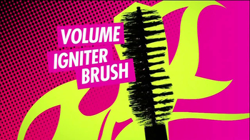 CoverGirl Flamed Out Mascara TV Spot, 'News in Volume' Featuring Pink - Thumbnail 4
