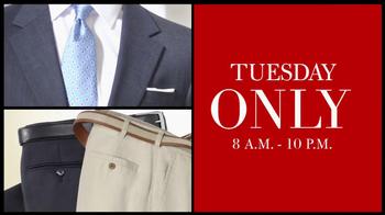 JoS. A. Bank TV Spot, 'Tuesday Sale'