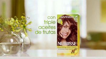 Garnier Nutrisse Nourishing Color Creme TV Spot, 'Un mejor color' con Danna García [Spanish] - Thumbnail 3