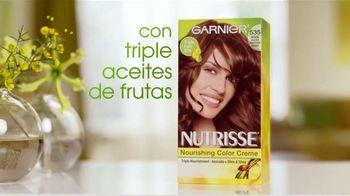 Garnier Nutrisse Nourishing Color Creme TV Spot, 'Un mejor color' con Danna García [Spanish] - Thumbnail 4