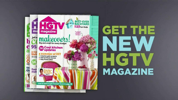 HGTV Magazine TV Spot, 'Subscription Sale'