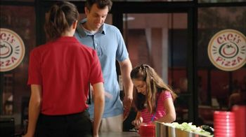 CiCi's Pizza $5 Endless Pizza Buffet TV Spot, 'Daughter Pays' - Thumbnail 3