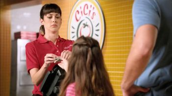 CiCi's Pizza $5 Endless Pizza Buffet TV Spot, 'Daughter Pays' - Thumbnail 4