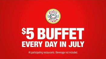 CiCi's Pizza $5 Endless Pizza Buffet TV Spot, 'Daughter Pays' - Thumbnail 5