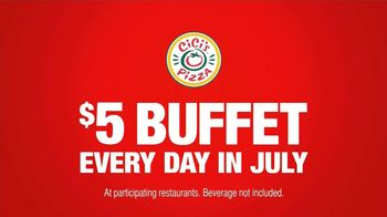 CiCi's Pizza $5 Endless Pizza Buffet TV Spot, 'Daughter Pays' - Thumbnail 6