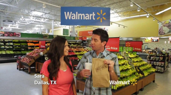 Walmart TV Spot, 'Fast Food: Sara' - 702 commercial airings