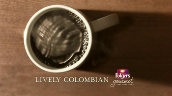 Folgers Gourmet Lively Colombian TV Spot - Thumbnail 1