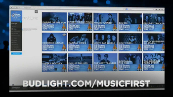 FX Network TV Spot, 'Bud Light Music First' - Thumbnail 9