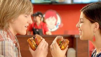 Wendy's Pretzel Bacon Cheeseburger TV Spot, 'Love at First Bite'