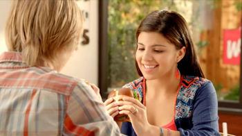 Wendy's Pretzel Bacon Cheeseburger TV Spot, 'Love at First Bite' - Thumbnail 2