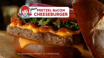 Wendy's Pretzel Bacon Cheeseburger TV Spot, 'Love at First Bite' - Thumbnail 8