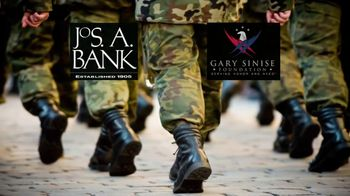 JoS. A. Bank and the Gary Sinise Foundation TV Spot