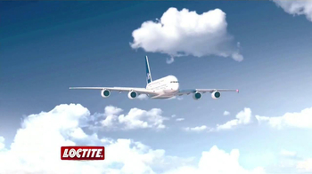 Loctite Clear Power Grab TV Spot, 'Airplane' - Thumbnail 1