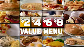 Denny's Build Your Own Chicken Wraps TV Spot - Thumbnail 7