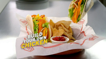 Build Your Own Chicken Wraps thumbnail