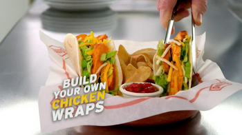 Denny's Build Your Own Chicken Wraps TV Spot - Thumbnail 3