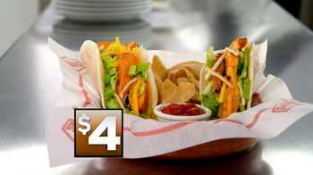 Denny's Build Your Own Chicken Wraps TV Spot - Thumbnail 4