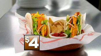 Denny's Build Your Own Chicken Wraps TV Spot - Thumbnail 5